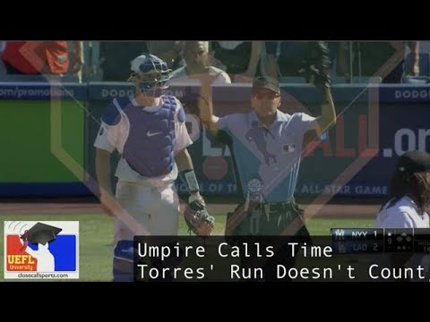 Umpire's Time Call Negates Yankees' Run Against Dodgers - Why Gabe Morales Called A Dead Ball