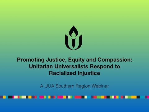 Promoting Justice, Equity, and Compassion