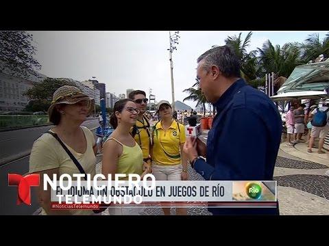 En Rio el portugués se hace difícil para los hispanos | Noticiero | Noticias Telemundo