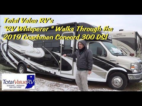 "2019 Coachmen Concord 300 DS RV Whisperer Walks Thru with The ""RV Whisperer""!"