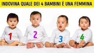 Test psicologico: quale dei 4 bambini è una femmina