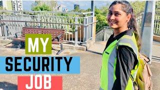 My Security JOB In Australia   Brisbane Australia Student Life   Part Time Job in Australia