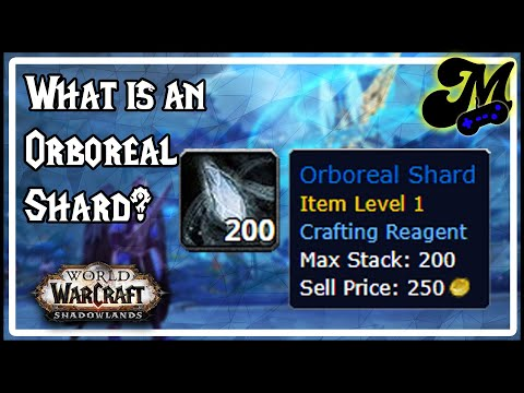 Shadowlands – Orboreal Shard & Latest Profession Changes