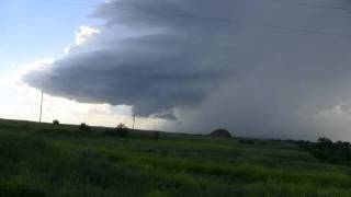 Timelapse of LP Supercell (7-14-11) in Northwestern SD