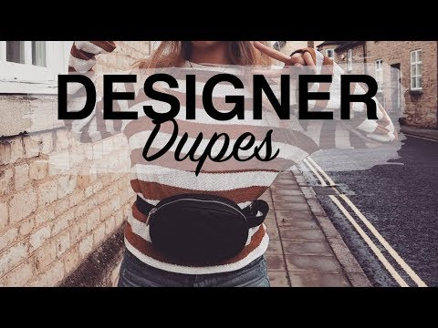 BEST DESIGNER DUPES | Gucci, Chloe, Valentino, Givenchy | Sinead Crowe