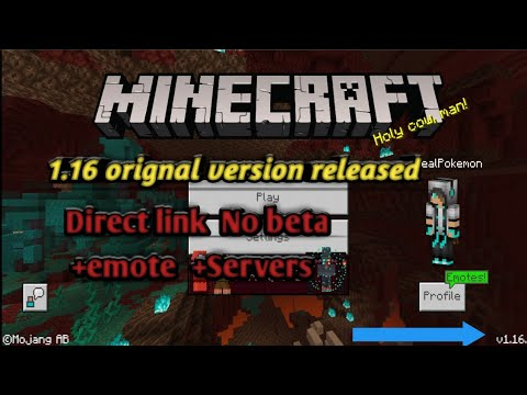 Download Minecraft 1.16 orignal version with direct link ...