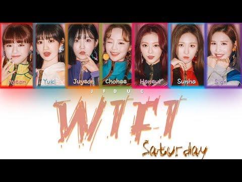 SATURDAY(세러데이) _ WiFi(와이파이) [HAN ROM ENG Color Coded Lyrics]