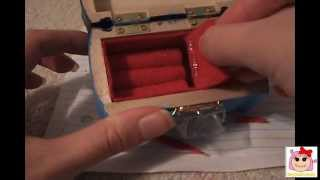How To Make A Jewelry Box For Your Doll. # 1