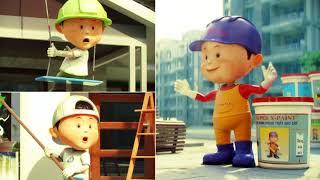Phim quảng cáo TVC 3D - Sơn X PAINT HD