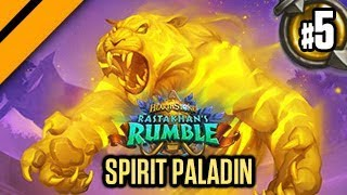 Hearthstone Rastakhan Release - Spirit of the Tiger Buffadin P5