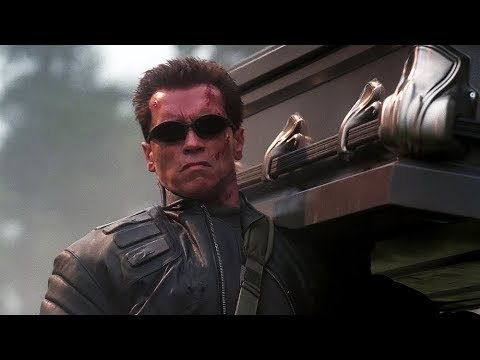 Download T-850 with Coffin and M1919 | Terminator 3 [Open Matte 1.78:1]
