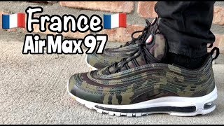 """Air Max 97 """"France"""" """"Country Camo"""" on"""