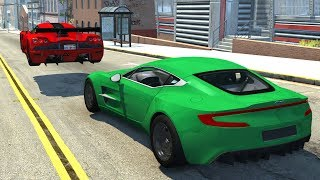 High Speed Jumps&Crashes #24 - BeamNG Drive