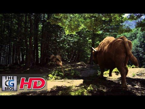 """CGI 3D/VFX Spot : """"Deer"""" - by Platige Image"""
