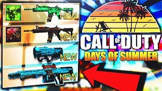 LAST DAY FOR CALL OF DUTY DAYS OF SUMMER! (NEW UPDATE @ 10am) - Infinite Warfare NEW HACK or EPICS?