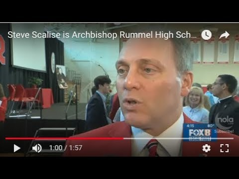 Steve Scalise is Archbishop Rummel High School's alumnus of the year