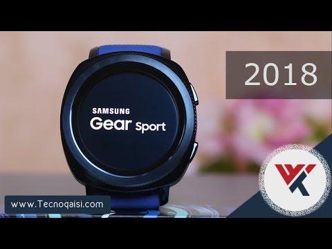 c86a58ef5 مراجعة ساعة Samsung Gear Sport 2018 ، بميزات قوية وتصميم أنيق ...