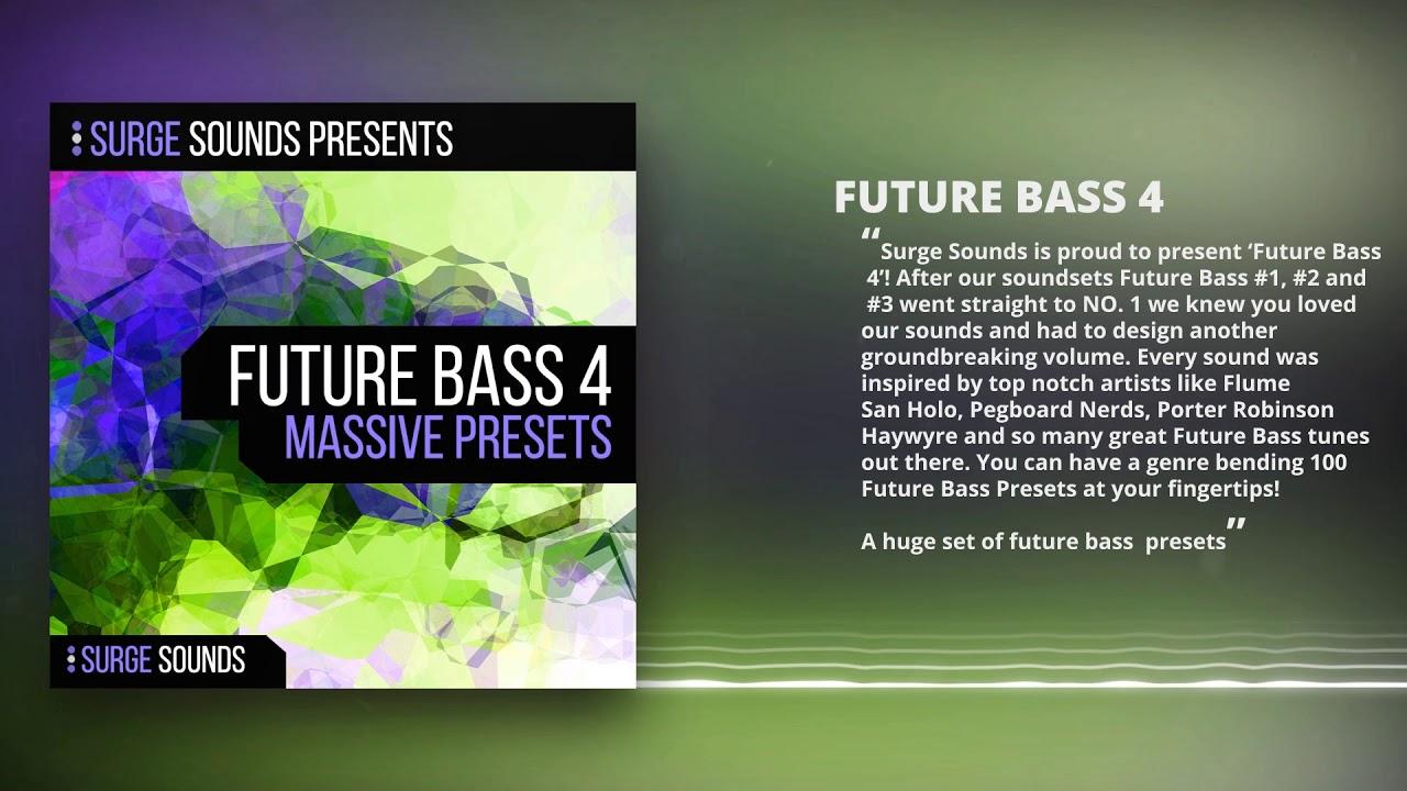 Future Bass 4 Massive Presets | Surge Sounds