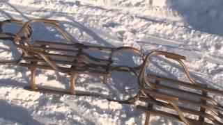 Деревянние санки, видео обзор моделей