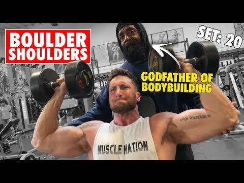 The ONLY Shoulder Workout *YOU NEED* For BOULDER SHOULDERS | Ft. CHARLES GLASS