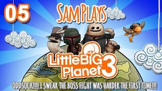 Sam And Merenya Play Little Big Planet 3! Ep. 5 - Meeting Oddsock
