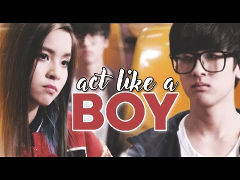 Act Like A Boy - (Angie KAMIKAZE)