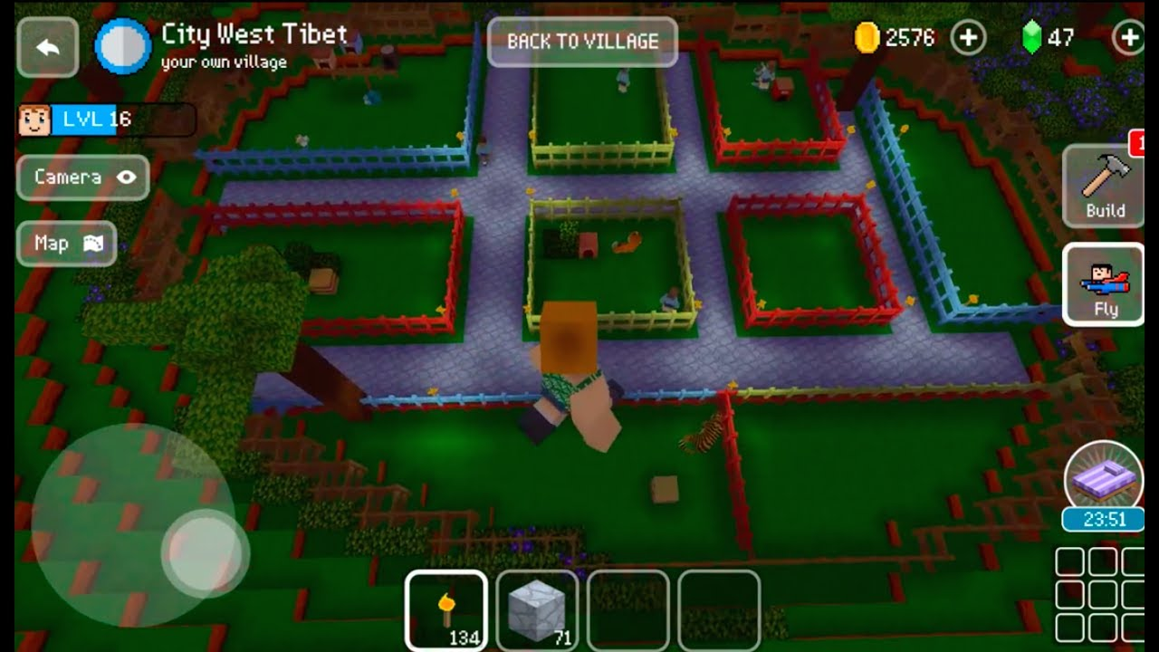 Block craft 3d mobile gameplay zoo 2 youtube for Block craft 3d online play
