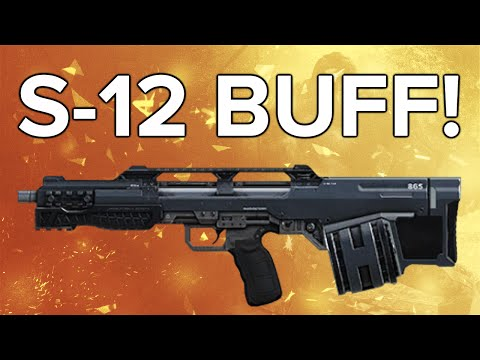 Advanced Warfare In Depth: S-12 Buff! (This Gun Is Good Now!)