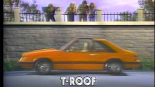 1981 Ford Mustang TV Ad Commercial  (6 of 6)