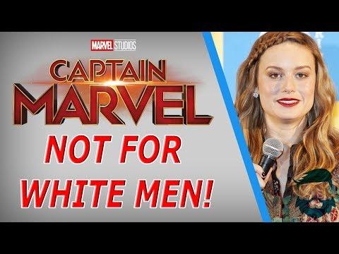 "Brie Larson Totally Doesn't Hate ""White Men"" Captain Marvel Isn't For ""Whites"" Though Mp3"