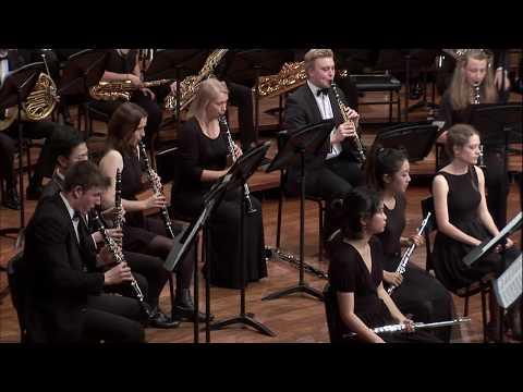 Holst Suite E-flat, Sydney Conservatorium of Music Wind Symphony