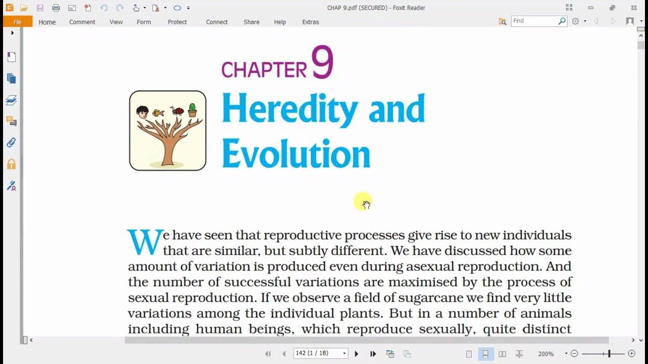 Heredity And Evolution Pdf