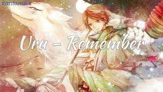 Gambar cover Uru - Remember (lirik + terjemahan Indonesia)
