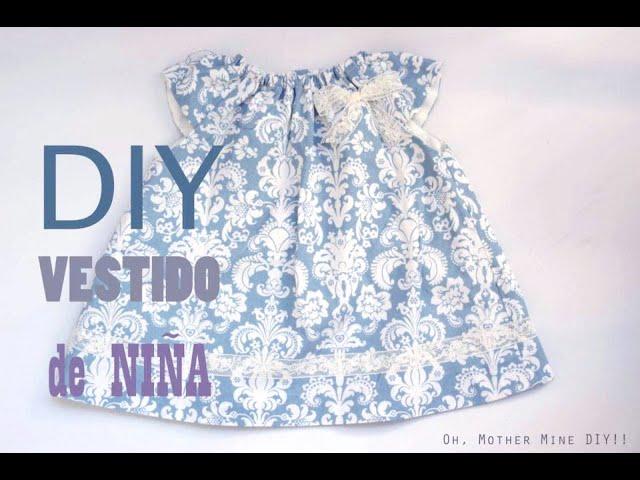 DIY Costura: vestido de niña (patrones gratis) - VidInfo