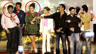 Johnny Lever & Ajay Devgn Make FUN Of Parineeti Chopra At Golmaal Again Trailer Launch