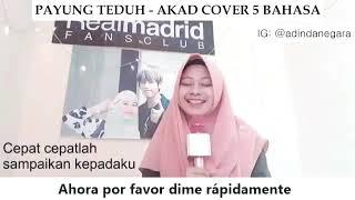"Video Payung teduh ""akad"" cover  5 bahasa download MP3, 3GP, MP4, WEBM, AVI, FLV Juni 2018"