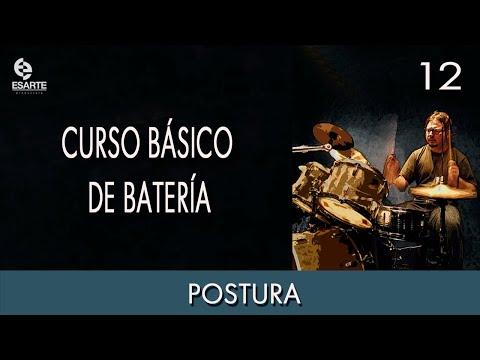 Curso Básico de Batería – Postura