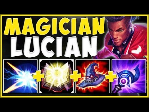 WHY CAN LUCIAN AP ABILITIES DO THIS MUCH DAMAGE?? LUCIAN SEASON 9 TOP GAMEPLAY! - League of Legends