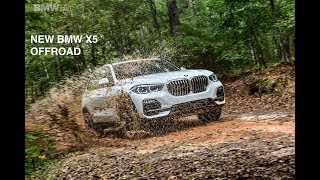 Can the new BMW X5 handle some off-road tracks?