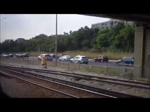 CTA Blue Line train from Forest Park terminal to Jackson/Dearborn station 2 (08-05-16)