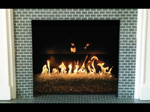Glass Fire Kit Installation