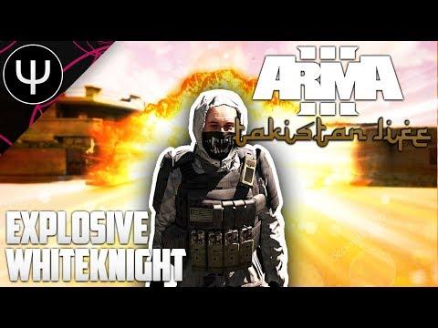ARMA 3: Takistan Life Mod — Explosive WHITEKNIGHTS!