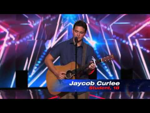 Jaycob Curlee  Cute Singer Dedicates 'Free Fallin'' Cover to Mom   America's Got Talent 2014