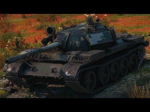 World of Tanks T 55A - 6 Kills 9,5K Damage thumbnail