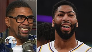Anthony Davis is buying into the Lakers' system - Jalen Rose | Jalen & Jacoby