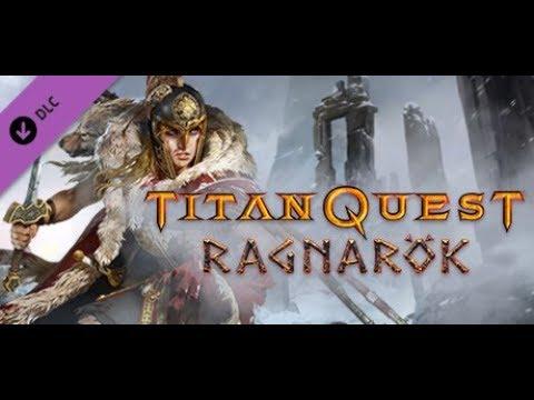 Titan Quest Dual Adamantine Sickle of Kronos vs Typhon Legendary |