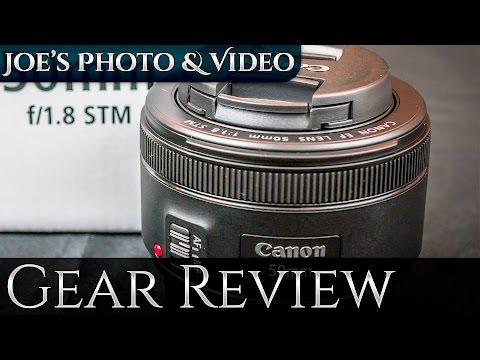 Canon EF 50mm f/1.8 STM Lens - Review Plus...