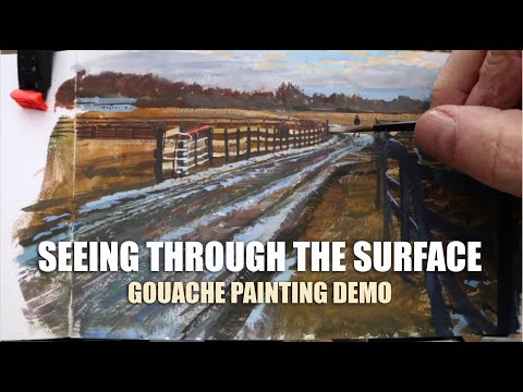 seeing-through-the-surface:-gouache-painting-tutorial-demo