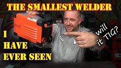 TFS: The Smallest Welder EVER! Will it TIG?