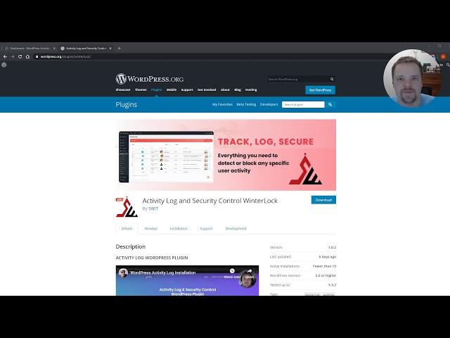 WordPress Activity Log Search / Filtering